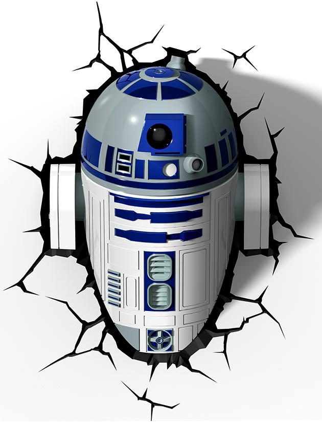 Star Wars R2D2 Wall Light-0