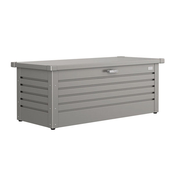 Metal Storage Box 180 Quartz Grey-0