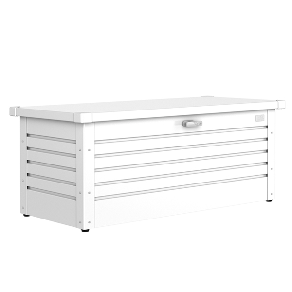Metal Storage Box 180 Pure White-0