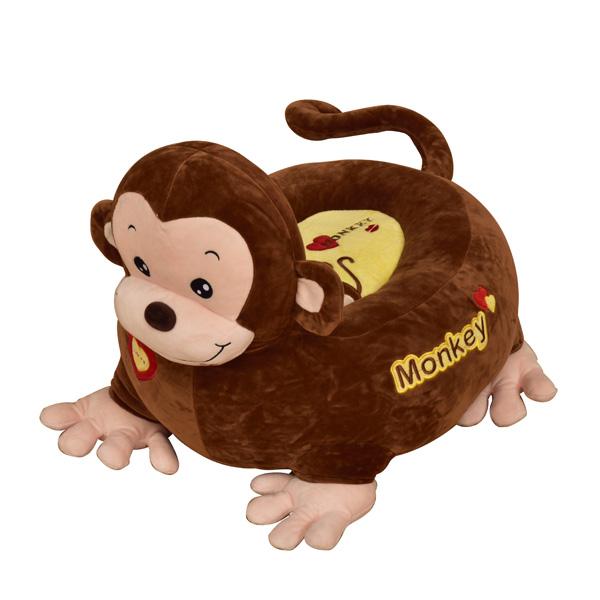 Plush Monkey Riding Chair-0