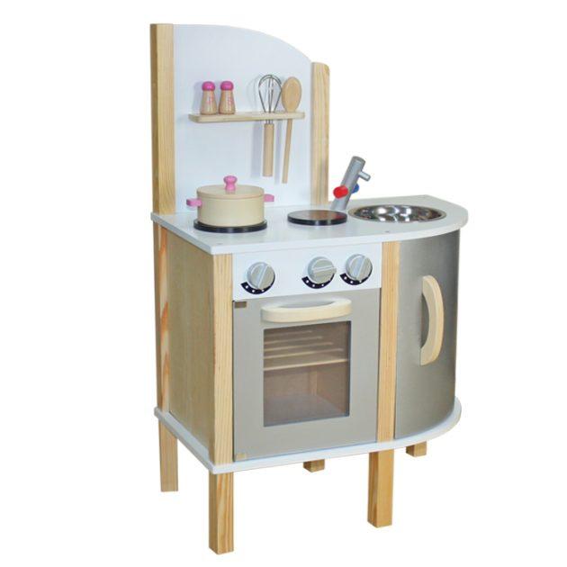 Grey Modern Wooden Kitchen-0