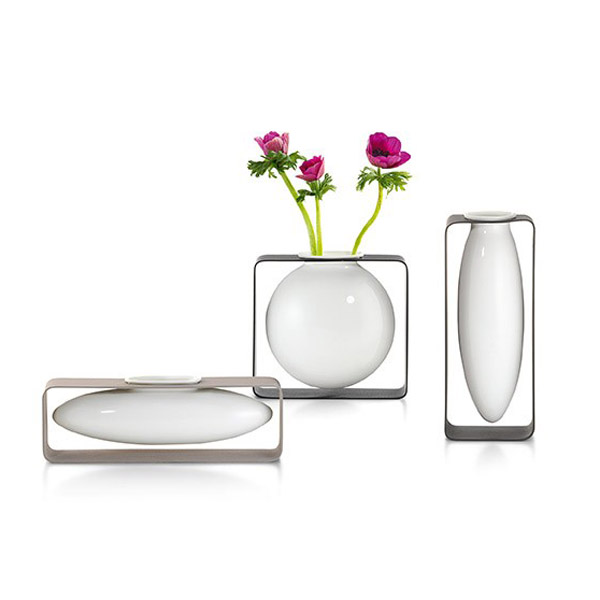 Lateral Floating Porcelain Vase-8051