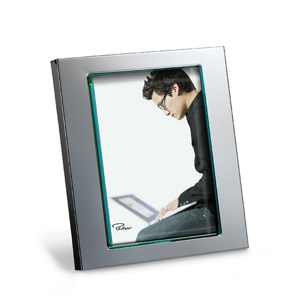 Medium Silver Photo Frame-0