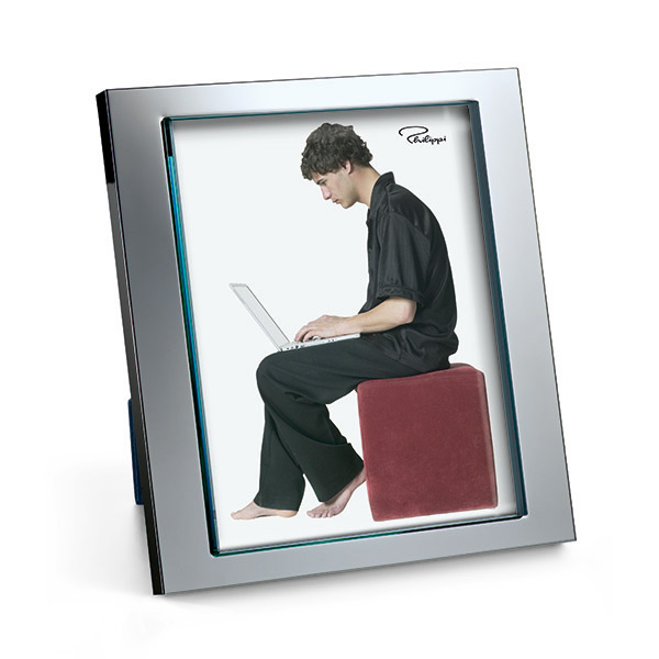 Large Silver Photo Frame-0