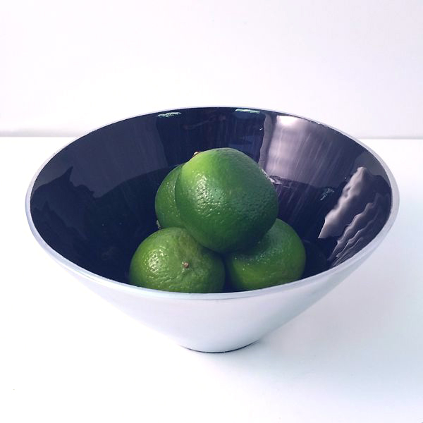 Small Blue Tapered Bowl-0