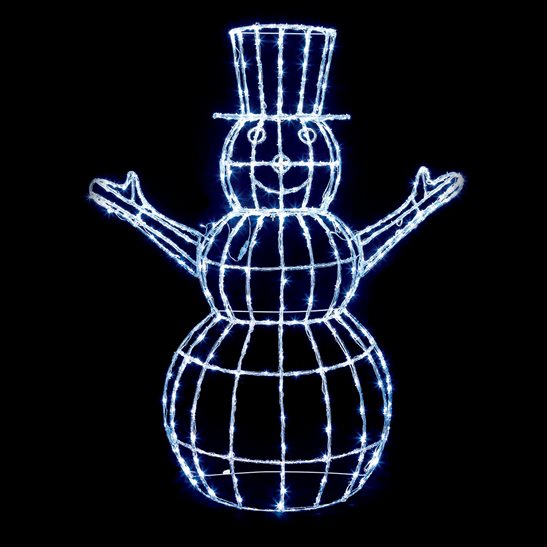 1.5m LED Christmas Snowman Decoration