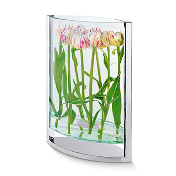 Large Ellipse Glass Vase-0
