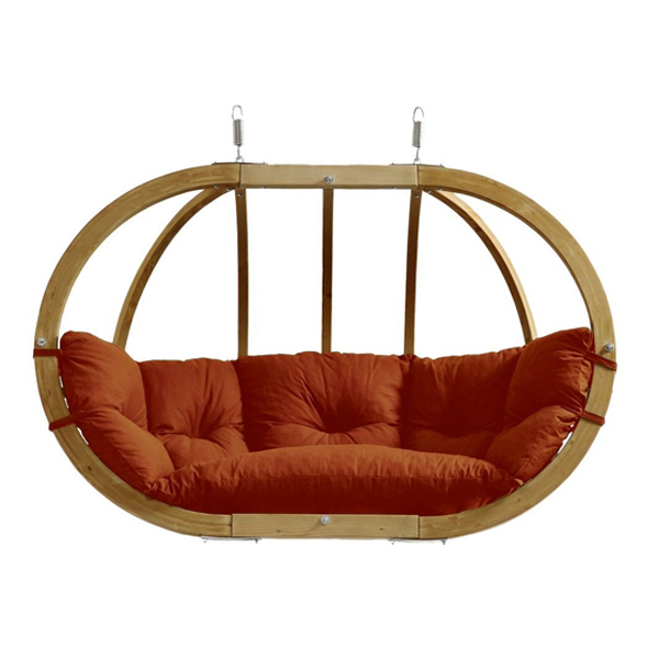 Globo Royal Hanging Seat Terracotta-0