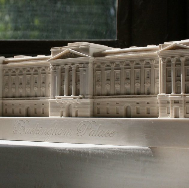 Buckingham Palace Small Model-0