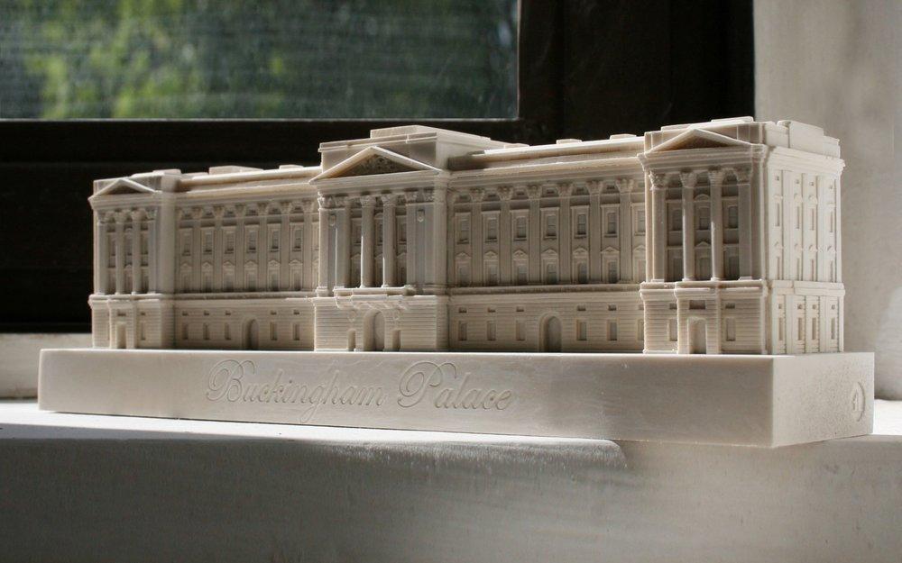 Buckingham Palace Small Model-0
