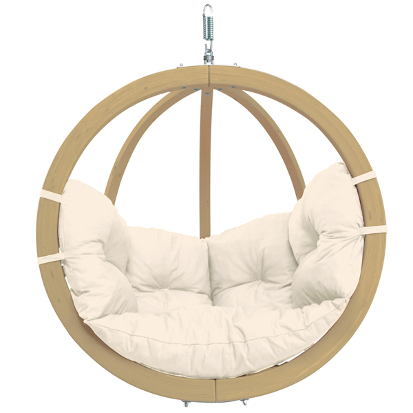 Globo Single Hanging Chair Natural-0