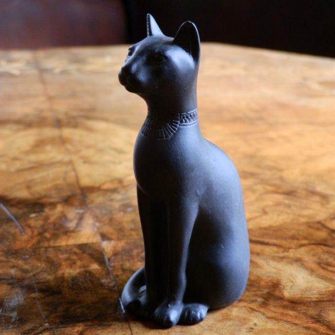 Egyptian Cat Small Black-0