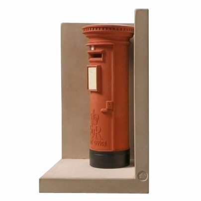 Post Box Bookend