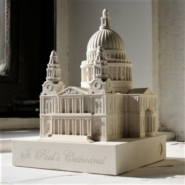 St Paul's Cathedral Small Model-0
