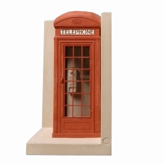Telephone Box Bookend
