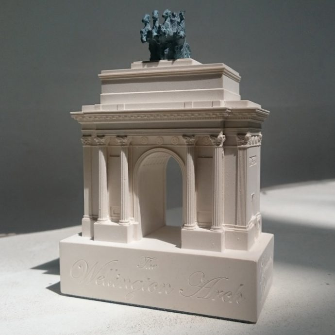 Wellington Arch Small Model-0