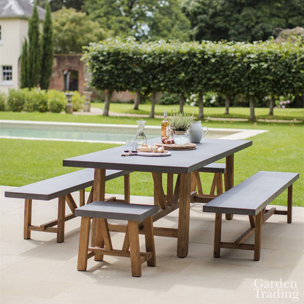 Chilson Large Bench Dining Set
