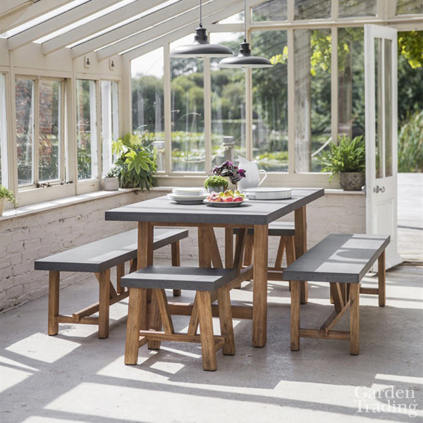 Chilson Small Bench Dining Set