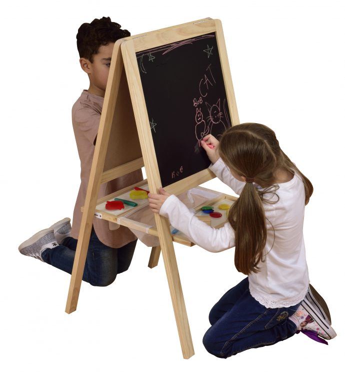 Junior Easel With Blackboard And Whiteboard-8812
