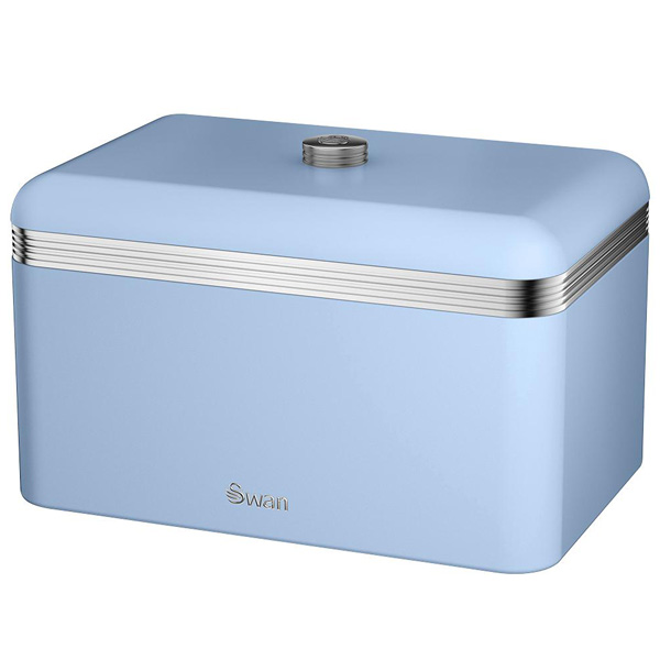 Blue Retro Bread Bin-0