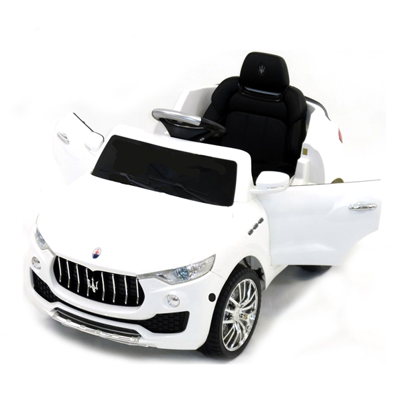 Maserati White Ride on Car-8899