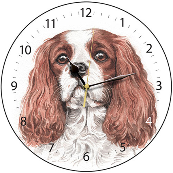 King Charles Spaniel Wall Clock