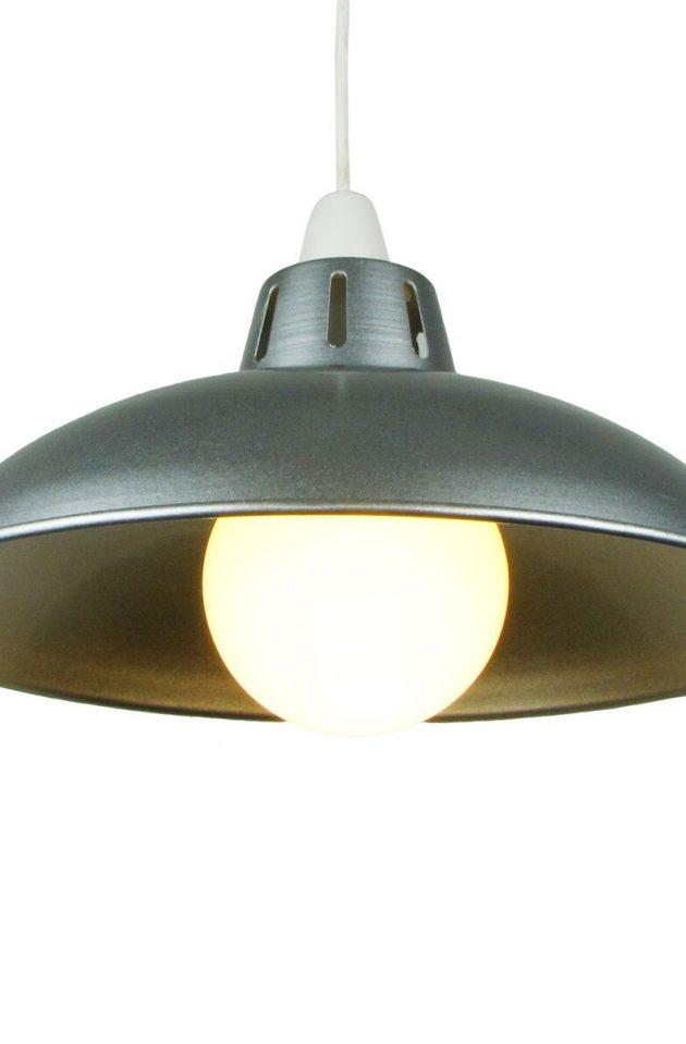 """Funnel 12"""" Alluminium Lampshade-0"""