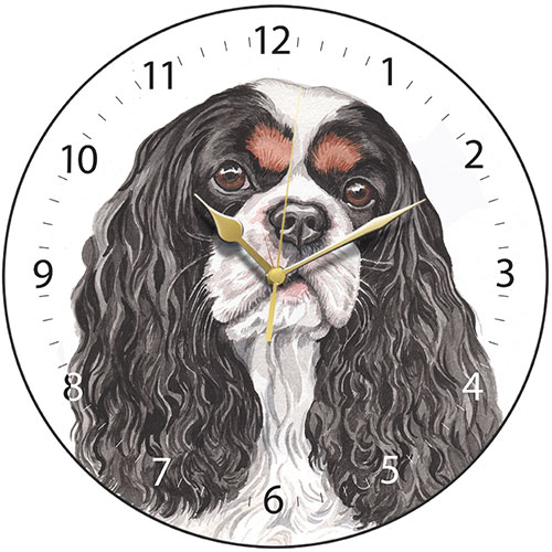Cavalier King Charles Spaniel Wall Clock-0