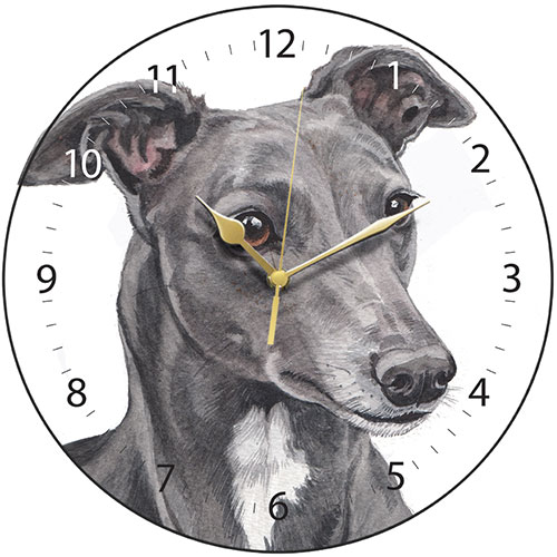 Greyhound Wall Clock