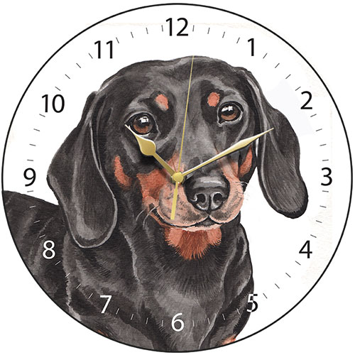 Dachshund Dog Wall Clock-0