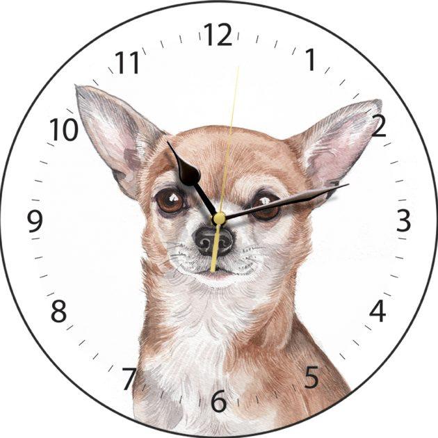 Chihuahua Wall Clock-0