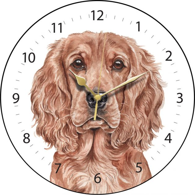 Cocker Spaniel Wall Clock-0