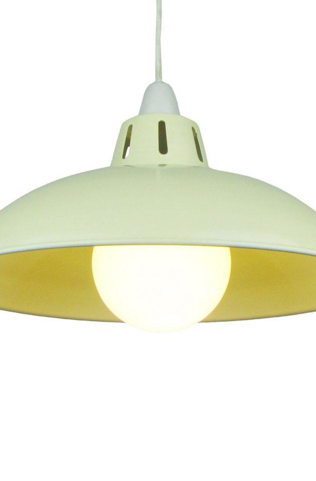 """Funnel 12"""" Cream Lampshade-0"""