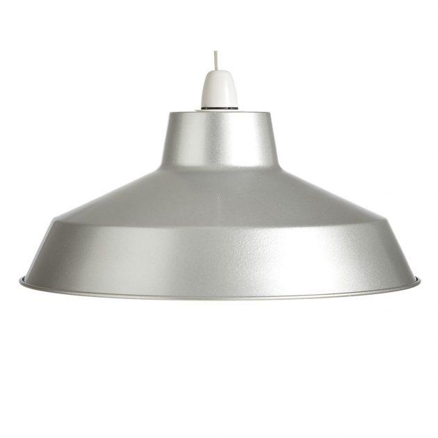 """Metal 14"""" Alluminium Lampshade-0"""