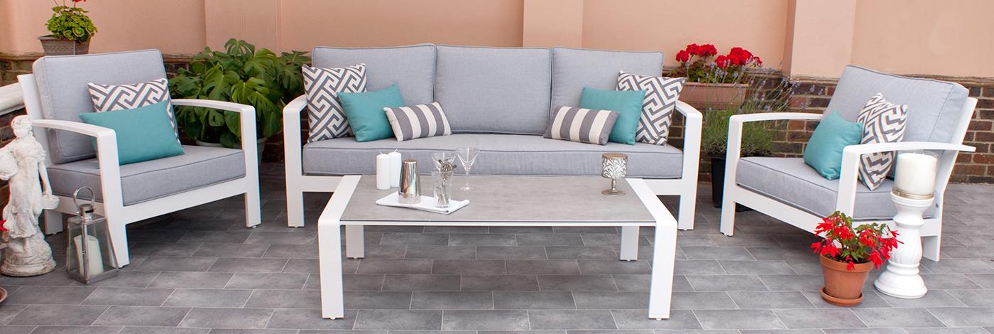 On-trend garden furniture
