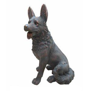 German Shepherd Dog Garden Statue