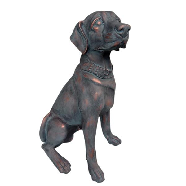 Labrador Puppy Dog Garden Statue