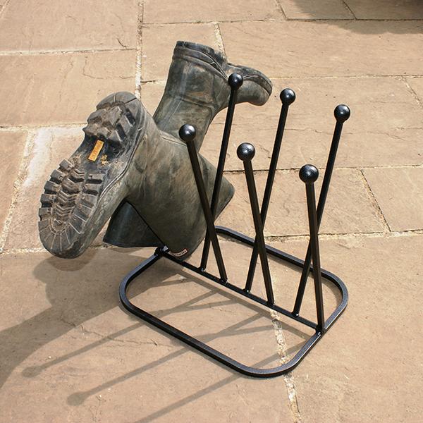 4 Pair Diagonal Boot Stand
