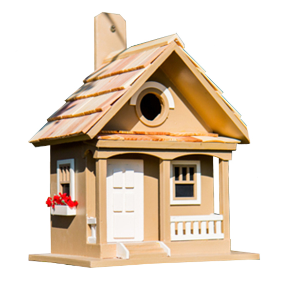 Café Au Lait Cottage Bird House