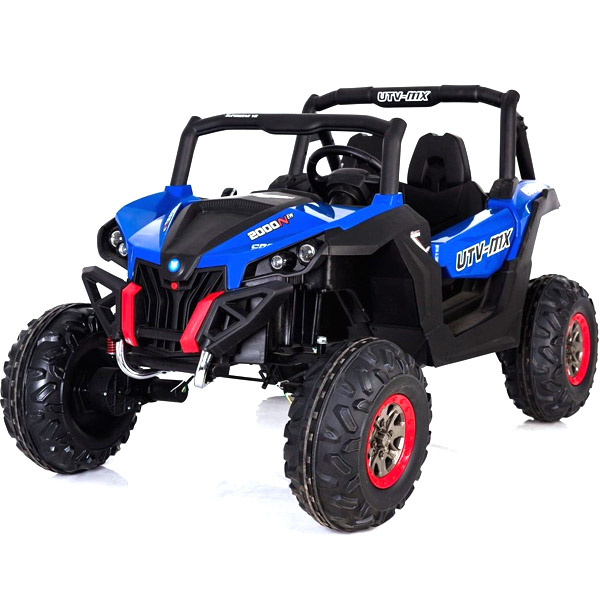 Blue 24V Electric Ride on Buggy