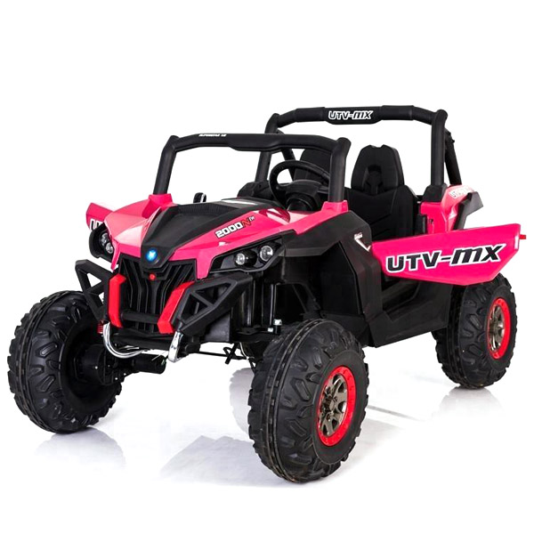 Pink 24V Electric Ride on Buggy