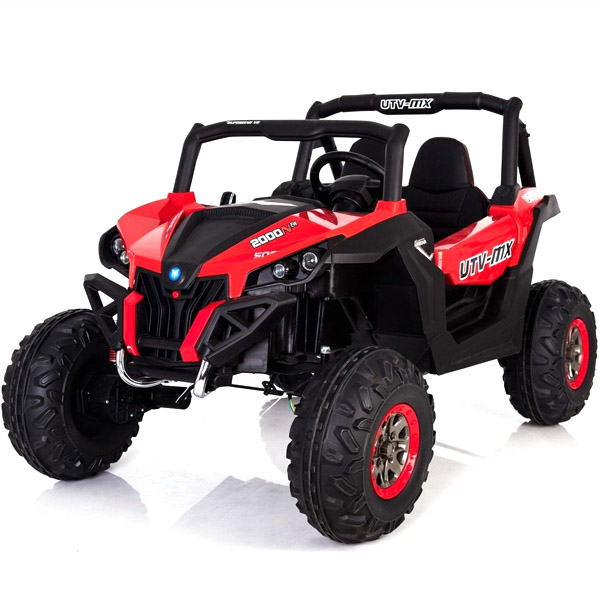 Red 24V Electric Ride on Buggy