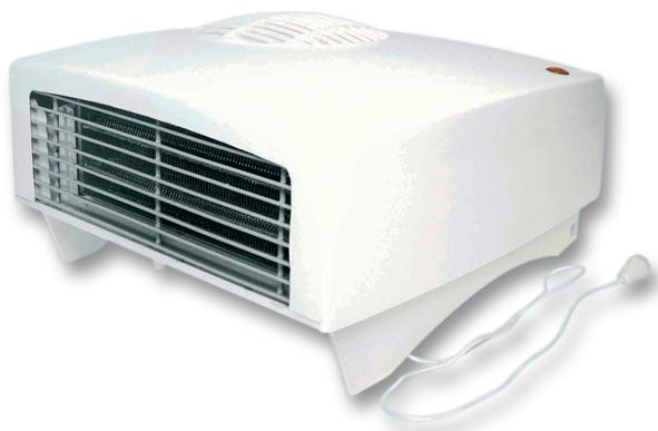 2kW Wall Mounted Adjustable Downflow Heater-0