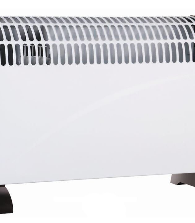 2kW Freestanding Convector Heater with Timer and Turbo Fan-0