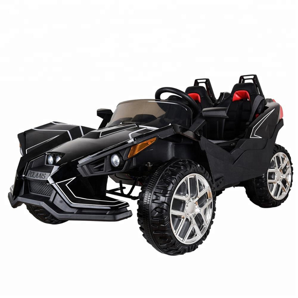 Polaais 12V Electric Ride on Buggy - Black-0