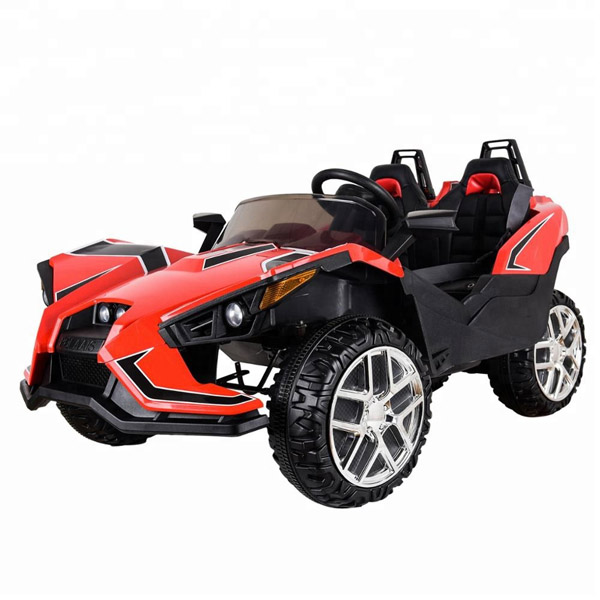 Polaais 12V Electric Ride on Buggy - Red-0