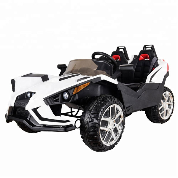 Polaais 12V Electric Ride on Buggy - White-0