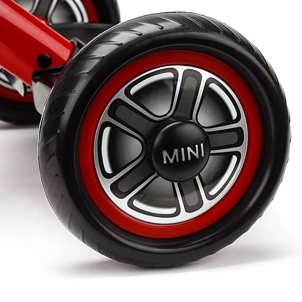 Licensed BMW Mini Pedal Trike - Red-9596