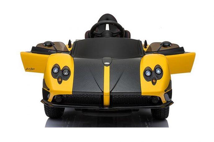 Licensed Pagani Zonda Roadster 12v Ride on Car - Yellow-9606