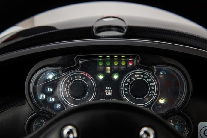 Licensed Pagani Zonda Roadster 12v Ride on Car - Yellow-9605
